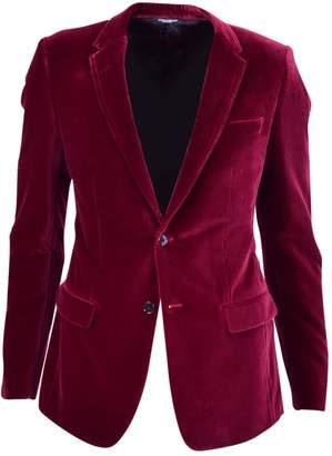 Dolce & Gabbana Red Velvet Jackets