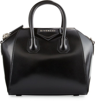 Givenchy Antigona Mini Box Calfskin Satchel Bag