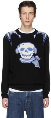 Coach 1941 Black Bonesy Sweater