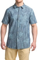 Jachs NY Chambray Floral Shirt - Short Sleeve (For Men)
