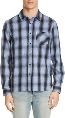 Ovadia & Sons Max Plaid Button-Up Shirt