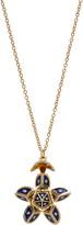 Santo by Zani 14K Gold, Enamel And Diamond Necklace