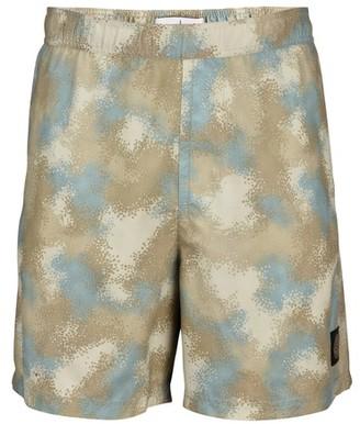 Stone Island Camo swim shorts