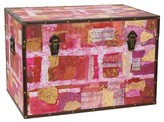 Oriental Furniture Avant-Garde Collage Trunk