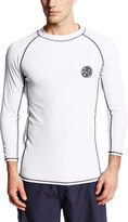 Maui & Sons Men's UPF 50+ Cookie Long Sleeve Rashguard
