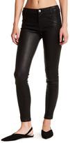 Current/Elliott The Welt Pocket Ankle Leather Skinny Jean