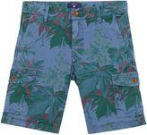 Gant Boys Flower Cargo Shorts 3-14 Yrs