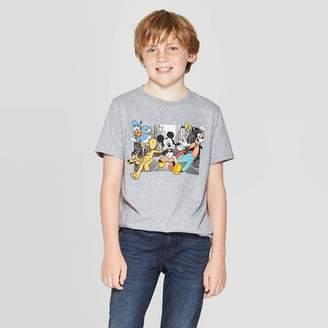 Mickey Mouse & Friends Boys' Mickey Mouse & Friends Short Sleeve T-Shirt - Heather Gray