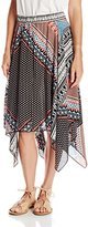 Amy Byer A. Byer Juniors Allover Printed Skirt