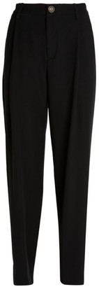 Vince High-Waist Tapered Trousers