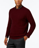 Tasso Elba Men's Big and Tall Chevron Sweater, Only at Macy's