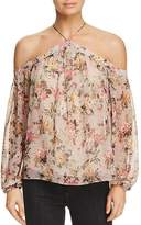 Bailey 44 Inamorata Floral Print Off-the-Shoulder Top