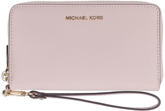 MICHAEL Michael Kors Grainy Leather Continental Wristlet