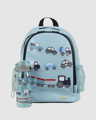 Bobbleart Large Backpack and Drink Bottle Pack Cars