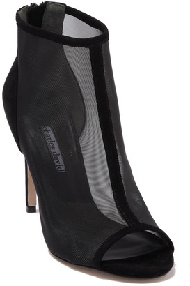 Charles David Cathie Open Toe Mesh Bootie