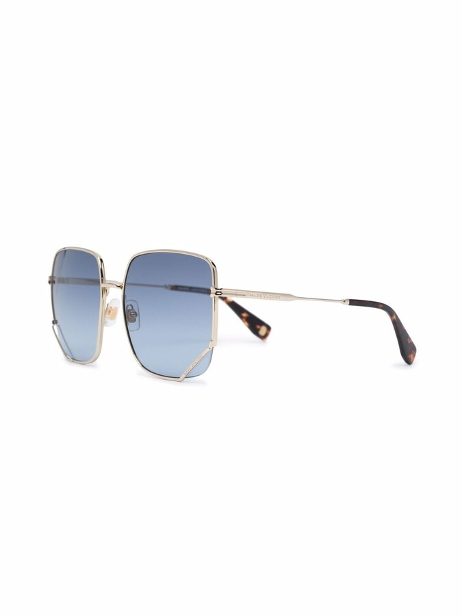 Thumbnail for your product : Marc Jacobs Light Hexagon sunglasses