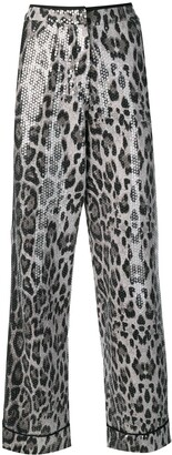 Loren sequined trousers