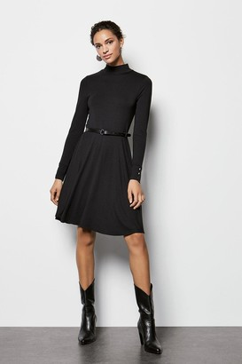 Karen Millen Jersey Flared Dress