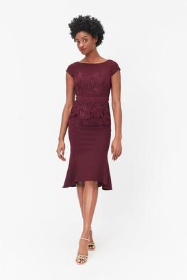 Coast Lace Waist Shift Dress