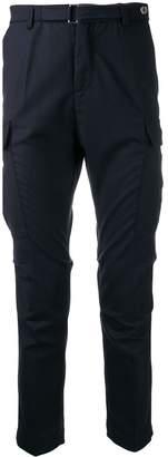 Entre Amis flannel cargo pants