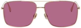 Christian Dior Rose Gold Aviator DiorStellaire03 Glasses