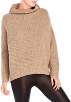 Eileen Fisher Slub Knit Funnel Neck Sweater
