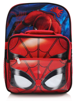 George Marvel Spider-Man Homecoming Rucksack with Lunch Bag