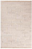 Jaipur Rugs Flatweave Trellis, Chain and Tile Pattern Wool Rug