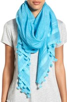La Fiorentina Women's Cotton & Silk Scarf