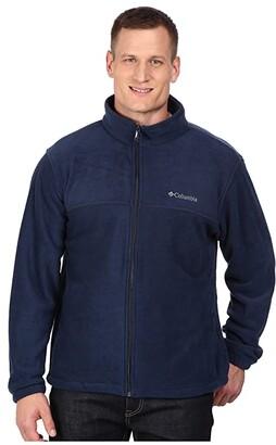 Columbia Big Tall Steens Mountaintm Full Zip 2.0 Jacket (Black) Men's Coat