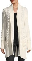 MICHAEL Michael Kors Cable-Knit Duster Cardigan
