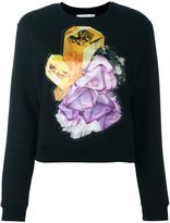 Carven crystal print sweatshirt