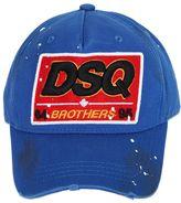 DSQUARED2 Dsq Patch Cotton Canvas Baseball Hat