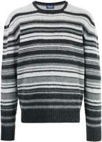 Drumohr striped crew neck sweater