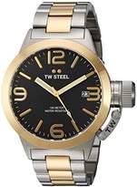 TW Steel Men's CB41 Analog Display Quartz Two Tone Watch