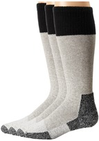Thorlos Hunting Cold Weather 3-Pair Pack Crew Cut Socks Shoes