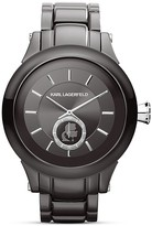 Karl Lagerfeld Chain Chronograph Watch, 44.6mm