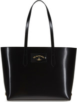 Vivienne Westwood Newcastle large leather shopper