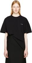 Balenciaga Black Cocoon T-shirt