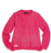 Ralph Lauren Toddler's & Girl's Aran Knit Sweater