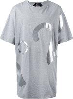 No.21 logo print T-shirt - men - Cotton - L