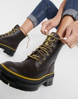 Thumbnail for your product : Timberland Malynn Mid Lace EK+ chunky lace-up boots in brown