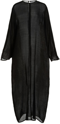 LA COLLECTION Epoine Wool Maxi Dress