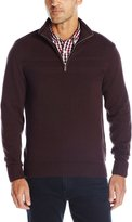 Dockers Cotton L/S Solid Textured Chest Stripe