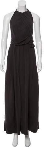 Cacharel Silk Pleated Dress