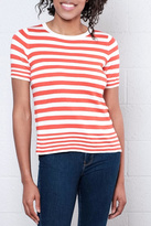 Only Striped Pullover Top