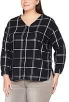 Ulla Popken Women's Oversized Bluse Blouse,26