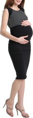 Kimi and Kai Lindsey Dot Maternity Dress