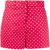 Moschino polka-dot short shorts