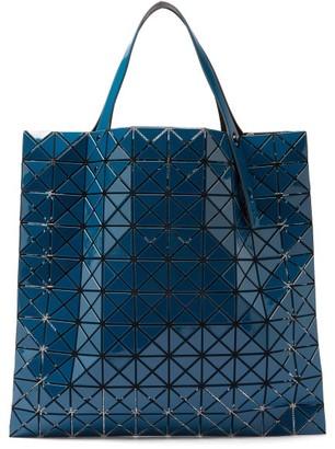 Bao Bao Issey Miyake Prism Large Gloss-pvc Tote Bag - Blue
